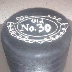Jack Daniels Chocolate (birthday) Cake