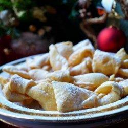 Italian Bowknot Cookies