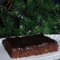 Cinnamon Mocha Sheet Cake