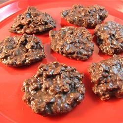 All-Natural No-Bake Cookies
