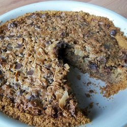 Oatmeal Chocolate Chip Pie