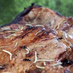 Marinated Ham Steaks