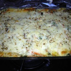 Irresistible & Healthy Vegetarian Lasagna W/ Cream Sauce!