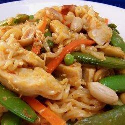 Spicy Ramen Skillet Thai Style