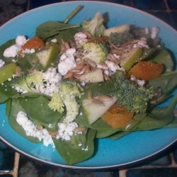 Spinach Salad With Gorgonzola Cheese recipe