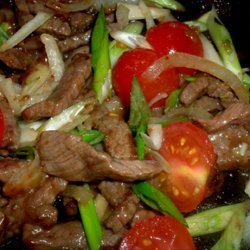 Beef and Tomato Stir-Fry