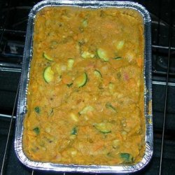 Curried Mung Beans With Rhubarb and Yams recipe
