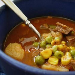 Vegetable Beef Soup -  Basic Recipe