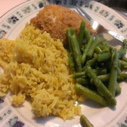 Curried and Herbed Basmati Rice