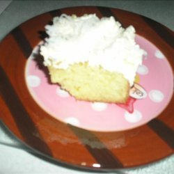 Easy Melt in Your Mouth Coconut Cake recipe