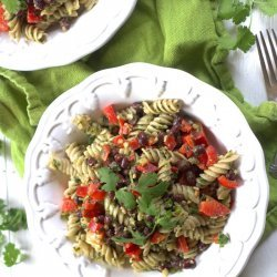 Cilantro Pesto Pasta Salad