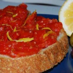 Spanish Tomato and Garlic Bread