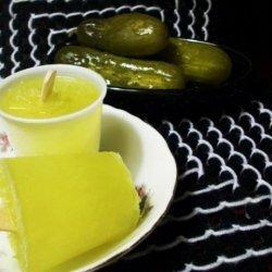 Puckerin' Pickle Pops