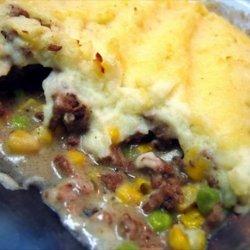 Yummy beef and potato casserole