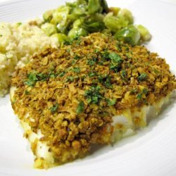 Coconut Curry Crust Fish