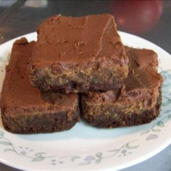 Ooey Gooey Peanut Butter and Fudge Brownies recipe