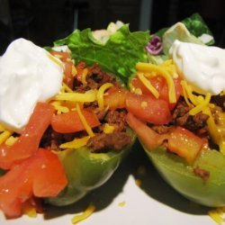 South of the Border Stuffed Bell Peppers