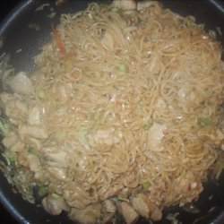 Quick and Easy Chicken Lo Mein recipe