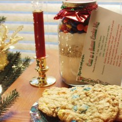 Cute As a Button Cookie Mix in a Jar
