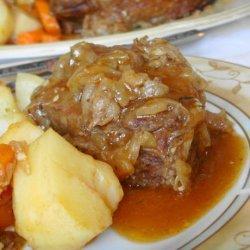 Savory Pot Roast With Pan Gravy (Oven or Crock Pot)