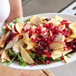 Pomegranate & Apple Salad