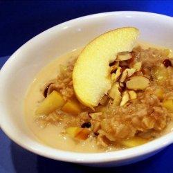 Apple Ginger Oatmeal