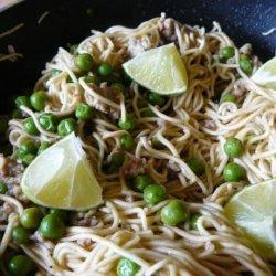 Thai Coconut Curry Noodles