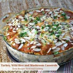 Mushroom Rice Casserole