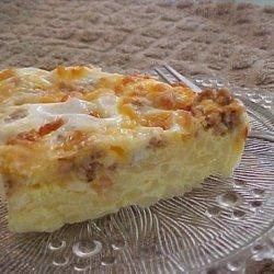 Hash Browns Breakfast  Quiche