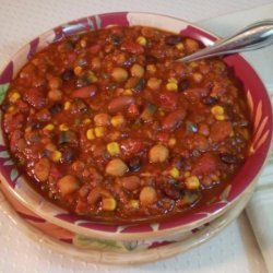 Crock Pot (Or Not) Vegetarian Chili
