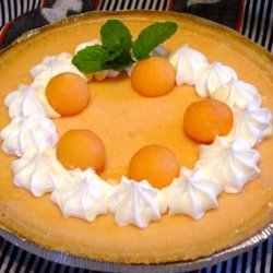 Cantaloupe Pie recipe