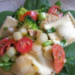 Mini Ravioli Antipasto Salad
