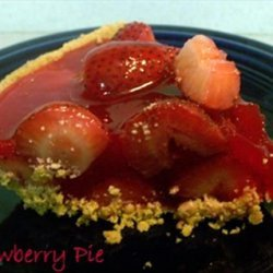 Strawberry Pie Fast and Easy