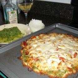 Gourmet Pesto Pizza