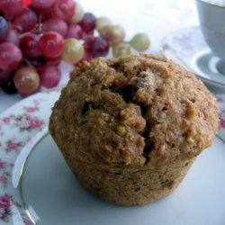 Bran Date Muffins from Linette at Plum Tree Cottage