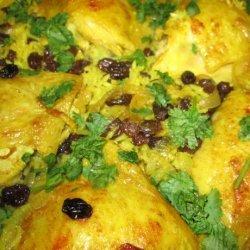 Oven-Baked Chicken Pilaf