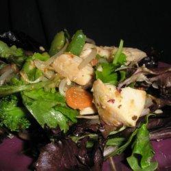 Stir-Fry Chicken Salad