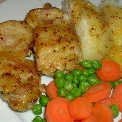 Chicken Thighs With Creole Mustard-Orange Sauce