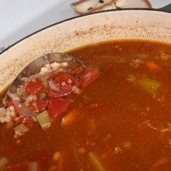 Hamburger-Barley Soup