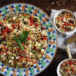 Greek Orzo Salad