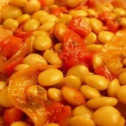 Yigandes Plaki - Greek Baked Beans & Tomato Casserole