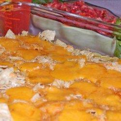Layered chicken Casserole