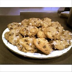 Pumpkin Spice Cookies With a Vanilla Glaze