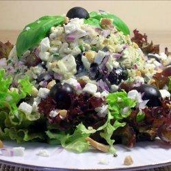 Basil Cashew Chicken Salad