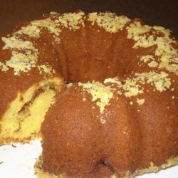 Easy Cake Mix Coffee Cake (Also Known As Breakfast Cake)
