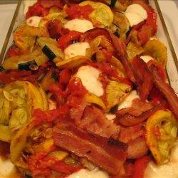 Zucchini and Bacon Casserole