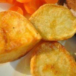 Oven-Roasted Garlic Potatoes