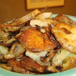 Easy Fried Potatoes & Onions