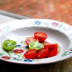 Cherry Tomatoes With Tamarind Dressing