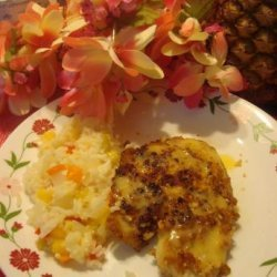 Macadamia Nut-Crusted Snapper With Mango Lime Butter